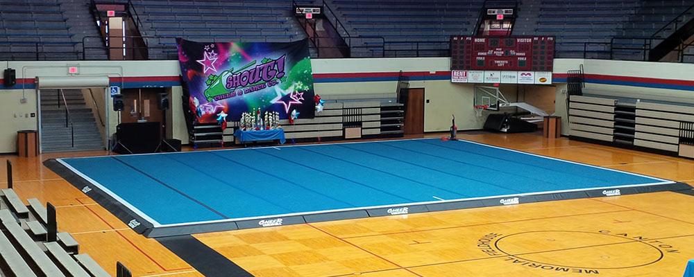 Cheerleading Spring Floor Mats - Carpet Vidalondon